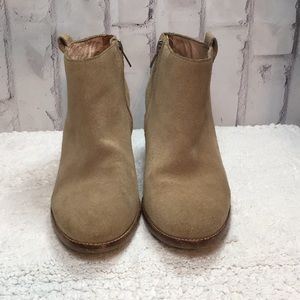 Madewell Suede Billie Boots